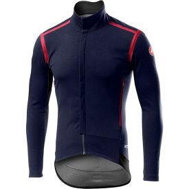 カステリ Castelli メンズ 自転車 トップス【Perfetto RoS Long - Sleeve Jersey】Savile Blue