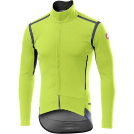 カステリ Castelli メンズ 自転車 トップス【Perfetto RoS Long - Sleeve Jersey】Yellow Fluo