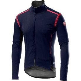 カステリ Castelli メンズ 自転車 ジャケット アウター【Perfetto RoS Convertible Jacket】Savile Blue