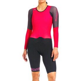 ジョルダーノ Giordana レディース トライアスロン トップス【NX - G Long - Sleeve Chronosuit】Pink/Black