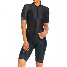 ジョルダーノ Giordana レディース トライアスロン トライスーツ ショートパンツ トップス【FR - C Pro Short - Sleeve Doppio Suit】Black
