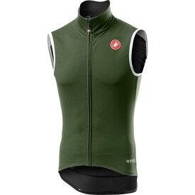 カステリ Castelli メンズ 自転車 ベスト・ジレ トップス【Perfetto RoS Vest】Military Green