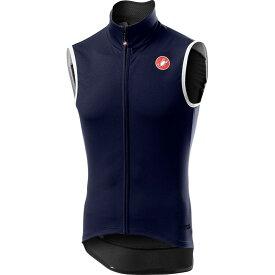 カステリ Castelli メンズ 自転車 ベスト・ジレ トップス【Perfetto RoS Vest】Savile Blue