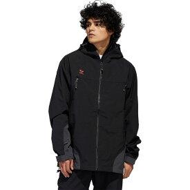 アディダス Adidas メンズ スキー・スノーボード ジャケット アウター【20K 3L Jacket】Black/Utility Black/Signal Orange