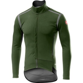 カステリ Castelli メンズ 自転車 トップス【Perfetto RoS Long - Sleeve Jersey】Military Green