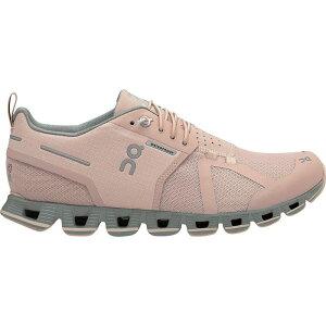 オン ON Running レディース ランニング・ウォーキング シューズ・靴【Cloud Waterproof Running Shoe】Rose/Lunar