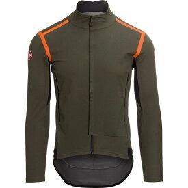 カステリ Castelli メンズ 自転車 トップス【Perfetto Ros Long Sleeve Jersey - Limited Edition】Military Green/Orange