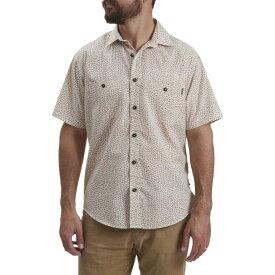 ホウラーブラザーズ Howler Brothers メンズ シャツ トップス【Aransas Shirt】Shattered Glass Earth