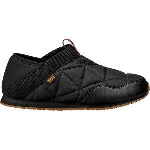 テバ Teva レディース スリッポン・フラット シューズ・靴【Ember Moc Shoe】Black