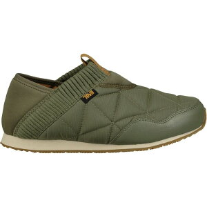 テバ Teva レディース スリッポン・フラット シューズ・靴【Ember Moc Shoe】Burnt Olive