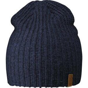 フェールラーベン Fjallraven メンズ ニット ビーニー 帽子【Ovik Melange Beanie】Navy