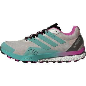 アディダス Adidas Outdoor レディース ランニング・ウォーキング シューズ・靴【Terrex Speed Ultra Trail Running Shoe】Ftwr White/Acid Mint/Screaming Pink