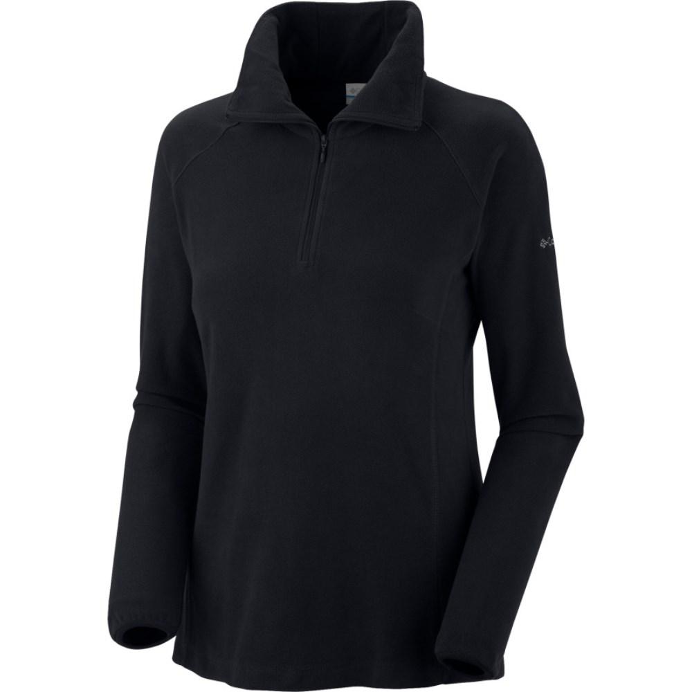 コロンビア Columbia レディース トップス 長袖シャツ【Glacial Fleece III 1/2-Zip Top】Black