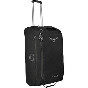 オスプレー Osprey Packs ユニセックス スーツケース・キャリーバッグ バッグ【Daylite 85L Wheeled Duffel】Black