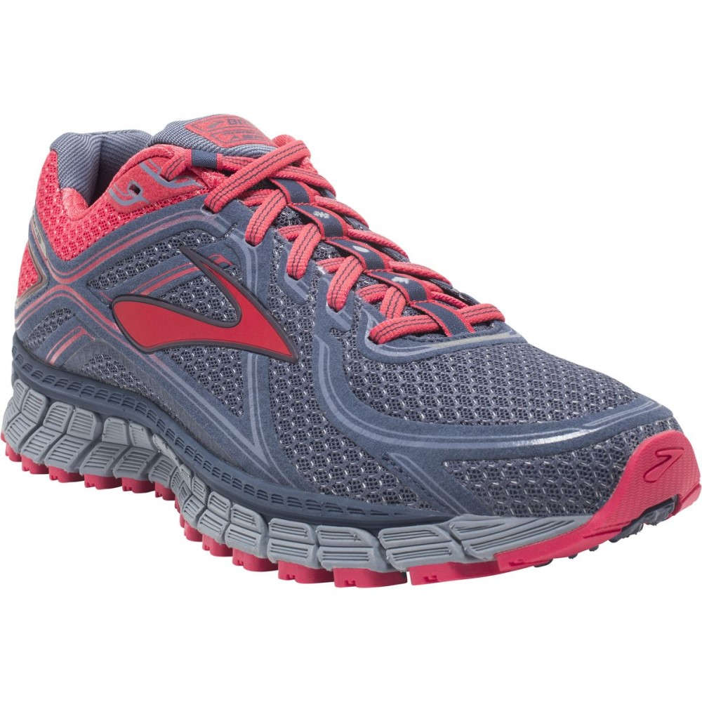 ブルックス Brooks レディース ランニング シューズ・靴【Adrenaline ASR 13 Trail Running Shoe】Crown Blue/Teaberry/Stonewash