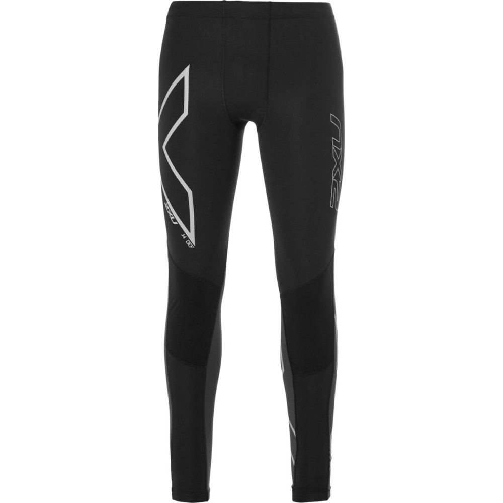 2XU 2XU メンズ サイクリング ウェア【G2 Wind Defence Compression Tight -Men's】Steel Black