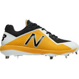 ニューバランス New Balance メンズ 野球 スパイク シューズ・靴【4040 v4 metal baseball cleats】Yellow/Black