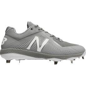 ニューバランス New Balance メンズ 野球 スパイク シューズ・靴【4040 v4 metal baseball cleats】Grey/Grey