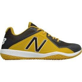 ニューバランス New Balance メンズ 野球 スパイク シューズ・靴【4040 v4 turf baseball cleats】Yellow/Black