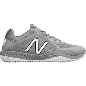 ニューバランス New Balance メンズ 野球 スパイク シューズ・靴【4040 v4 turf baseball cleats】Grey/Grey