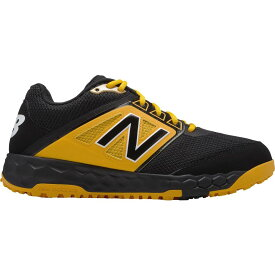 ニューバランス New Balance メンズ 野球 スパイク シューズ・靴【3000 v4 turf baseball cleats】Black/Yellow