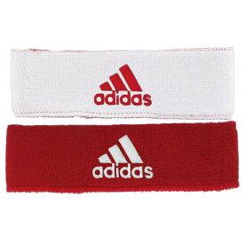 アディダス adidas ユニセックス ヘアアクセサリー【Interval Reversible Headband - 2'】Red/White