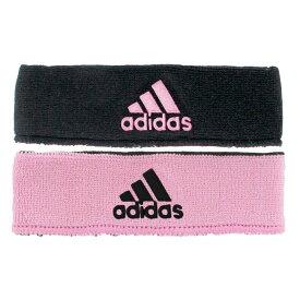 アディダス adidas ユニセックス ヘアアクセサリー【Interval Reversible Headband - 2'】Gala Pink/Black