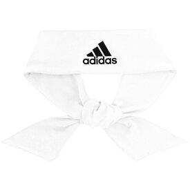 アディダス adidas ユニセックス ヘアアクセサリー【Alphaskin Tie Headband】White/Black
