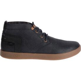 チャコ Chaco メンズ ブーツ シューズ・靴【davis mid leather casual boots】Black