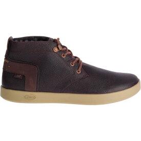 チャコ Chaco メンズ ブーツ シューズ・靴【davis mid leather casual boots】Mahogany