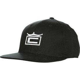 コブラ Cobra メンズ キャップ スナップバック 帽子【tour crown snapback golf hat】Black