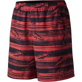 コロンビア Columbia メンズ 海パン ショートパンツ 水着・ビーチウェア【pfg backcast ii printed board shorts】Sunset Red Lure Stripe