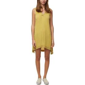 オニール O'Neill レディース ワンピース タンクドレス ワンピース・ドレス【chelsey woven tank dress】Yellow