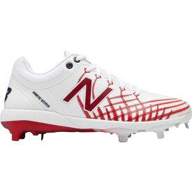ニューバランス New Balance メンズ 野球 シューズ・靴【4040 v5 All-Star Game Baseball Cleats】White/Red