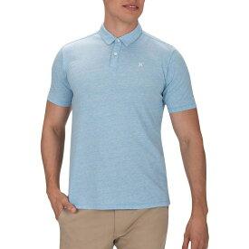 ハーレー Hurley メンズ ポロシャツ トップス【dri-fit coronado short sleeve polo】Light Blue Heather