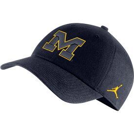 ナイキ ジョーダン Jordan メンズ 帽子 【michigan wolverines blue heritage86 logo hat】