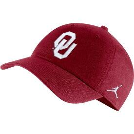 ナイキ ジョーダン Jordan メンズ 帽子 【oklahoma sooners crimson heritage86 logo hat】