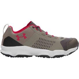 アンダーアーマー Under Armour レディース ハイキング・登山 シューズ・靴【Speedfit Hike Low Hiking Shoes】Charcoal Stoneleigh Taupe