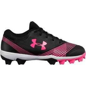アンダーアーマー Under Armour レディース 野球 スパイク シューズ・靴【glyde rm softball cleats】Black/Pink