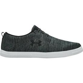 アンダーアーマー Under Armour メンズ シューズ・靴 【street encounter iv recovery shoes】Black/White/Graphite