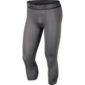 ナイキ Nike メンズ フィットネス・トレーニング タイツ・スパッツ ボトムス・パンツ【pro 3/4 length compression tights】Gunsmoke/Gunsmoke