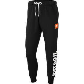 ナイキ Nike メンズ ボトムス・パンツ 【just do it fleece pants】Black/White