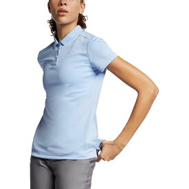 ナイキ Nike レディース ゴルフ トップス【dry short sleeve golf polo】Aluminum/Aluminum