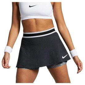 ナイキ Nike レディース テニス スカート ボトムス・パンツ【dri-fit perforated tennis skirt】Black