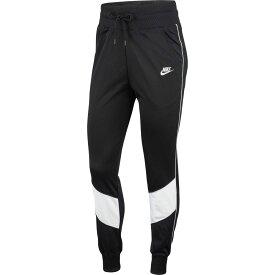 ナイキ Nike レディース スウェット・ジャージ ボトムス・パンツ【sportswear heritage track pants】Black/White