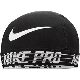 ナイキ Nike ユニセックス キャップ スカルキャップ 帽子【pro skull cap 2.0】Black/White/White