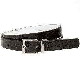 ナイキ Nike レディース ゴルフ ベルト【croco to smooth golf belt】Black/White