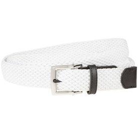 ナイキ Nike レディース ゴルフ ベルト【stretch woven golf belt】White