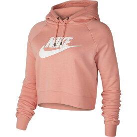 ナイキ Nike レディース パーカー トップス【sportswear essential cropped hoodie】Pink Quartz