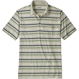 パタゴニア Patagonia メンズ ポロシャツ トップス【squeaky clean polo shirt】Terrain Mlti Tailored Gry
